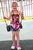 Adorable Mädchen auf Schaukel | Stock Foto