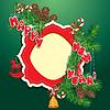 Navidad y año nuevo fondo - abeto | Ilustración vectorial