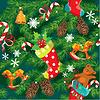 X-MAS 크리스마스와 새 해 배경 | Stock Vector Graphics