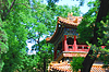 Ancient temple of emperor in garden ofForbidden City | Stock Foto