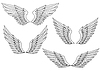 Heraldische Flügel