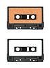 ID 3788288 | Sammlung von verschiedenen Vintage Audiokassetten. jeweils | Foto mit hoher Auflösung | CLIPARTO