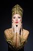 ID 3752159 | 이집트의 아름다움의 화신에서 젊은 모델 | 높은 해상도 사진 | CLIPARTO