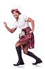 ID 3769057 | Scottish Mann tanzt | Foto mit hoher Auflösung | CLIPARTO