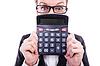 ID 3776218 | Смешные бухгалтера с калькулятором | Фото большого размера | CLIPARTO