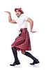 ID 3786736 | Scottish Mann tanzt | Foto mit hoher Auflösung | CLIPARTO