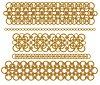 Łańcuchy złote pierścienie | Stock Vector Graphics