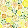 abstrakter Zitrusfrüchte Hintergrund