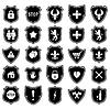 Satz von Symbolen Schild mit Symbolen