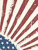 Grunge amerikanische Flagge Hintergrund.