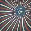 Abstrakte amerikanische Flagge Themenhotel Hintergrund mit Sternen