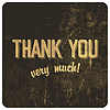 Danke Wörter auf Grunge-Hintergrund