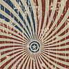 Patriotischen amerikanischen abstrakten Hintergrund auf Holz