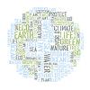 Ökologie der Erde Konzept Wort Collage. Umweltschutz
