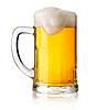 Becher mit Bier | Stock Foto