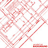 Czerwony architektura | Stock Vector Graphics