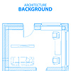 Architecture background | Stock Vektrografik