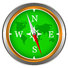 Schöne Kompass | Stock Vektrografik