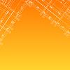 Pomarańczowe tło architektoniczne | Stock Vector Graphics