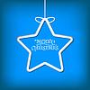 Einfache Weihnachtskarte | Stock Vektrografik