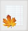 Maple Leaf und Schreiben-Buch