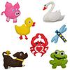 Zwierzęta zabawki filcowe | Stock Foto