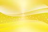 Abstrakte Kurve und leuchten, gelber Hintergrund | Stock Illustration