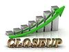 - 금 문자와 그래픽 성장의 비문 | Stock Illustration