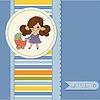 Junge Dame und Kinderwagen