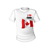 Canadian T-Shirt Flagge