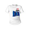 Europäische Union T-Shirt Flagge