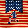 Американский флаг фон со звездами символизирующих | Векторный клипарт