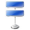 ID 3747469 | Informationen Verkehrszeichen | Stock Vektorgrafik | CLIPARTO