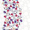Medizin-und Gesundheits nahtlose Muster | Stock Vektrografik