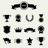 Trophy und Auszeichnungen Icons