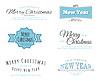 메리 크리스마스 유형 | Stock Vector Graphics