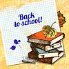 Back to School-Design. Jahrgang Hintergrund