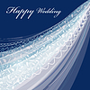 Wedding veil | Stock Illustration