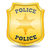 Odznaka policyjna | Stock Vector Graphics
