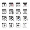 Kalender Icons