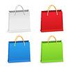 Papier-Einkaufstüten