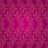 Floral vintage nahtlose Muster auf rosa Hintergrund