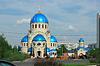 ID 3780290 | Temple of Holy Trinity in Orekhovo-Borisovo | Foto stockowe wysokiej rozdzielczości | KLIPARTO