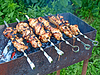 Appetizing shashlik | Stock Foto