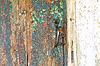 W wieku, drewniane drzwi | Stock Foto