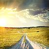 Kraj drogowego w jesieni | Stock Foto