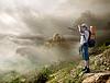 ID 3899605 | Турист с рюкзаком | Фото большого размера | CLIPARTO
