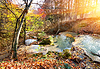 Cascade Gebirgsfluss | Stock Foto