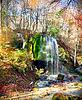 Schöner Wasserfall | Stock Foto