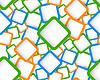 ID 3753744 | Seamless pattern with squares | Klipart wektorowy | KLIPARTO